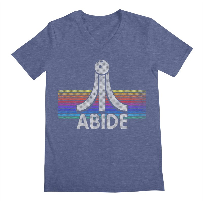 Abide Men's Regular V-Neck by Gamma Bomb - Explosively Mutating Your Look