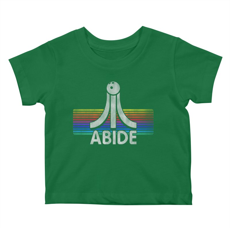 Abide Kids Baby T-Shirt by Gamma Bomb - Explosively Mutating Your Look