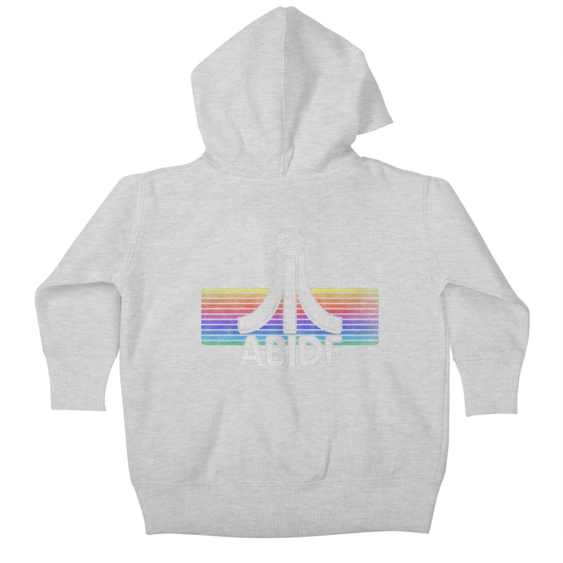 Abide Kids Baby Zip-Up Hoody by Gamma Bomb - Explosively Mutating Your Look