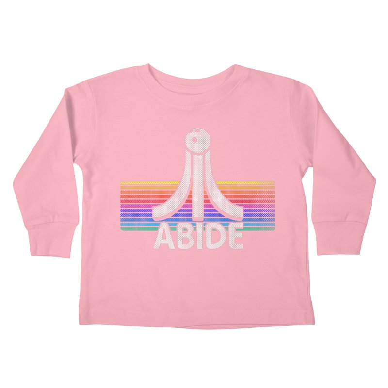 Abide Kids Toddler Longsleeve T-Shirt by Gamma Bomb - Explosively Mutating Your Look