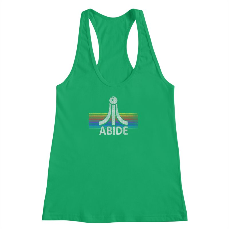 Abide Women's Racerback Tank by Gamma Bomb - Explosively Mutating Your Look