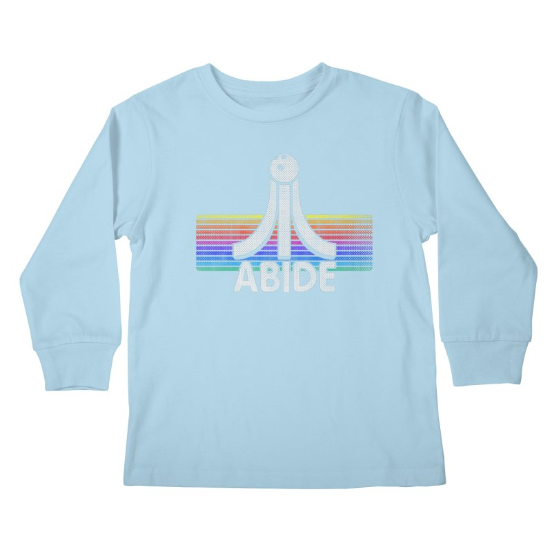 Abide Kids Longsleeve T-Shirt by Gamma Bomb - Explosively Mutating Your Look
