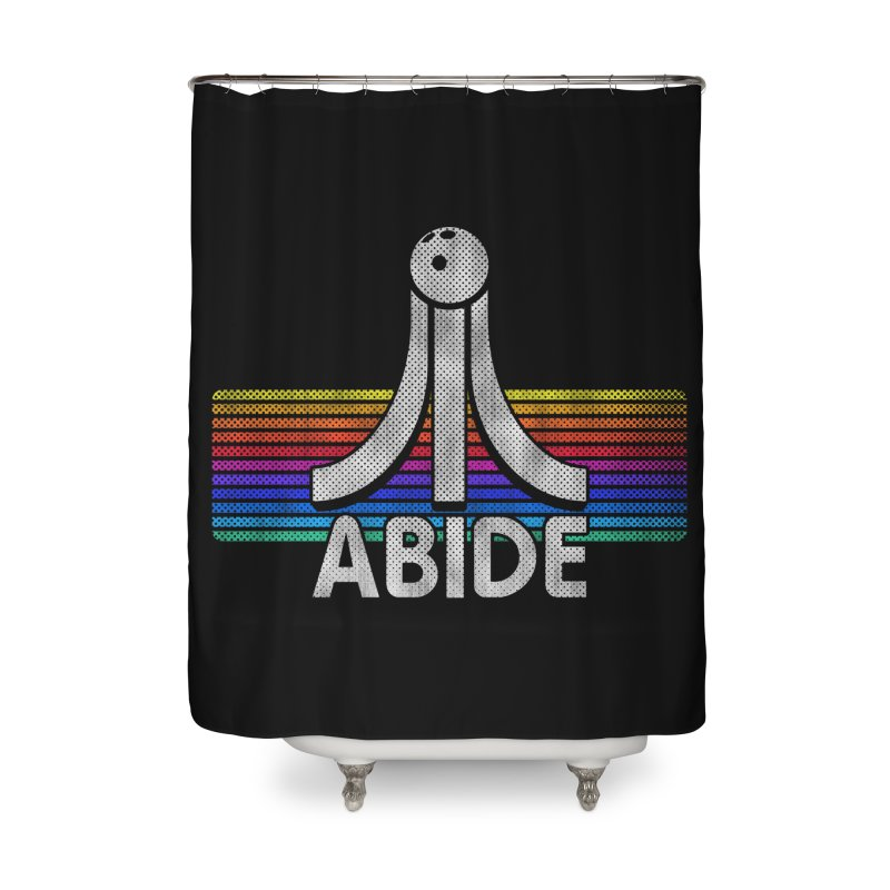 Abide Home Shower Curtain by Gamma Bomb - Explosively Mutating Your Look