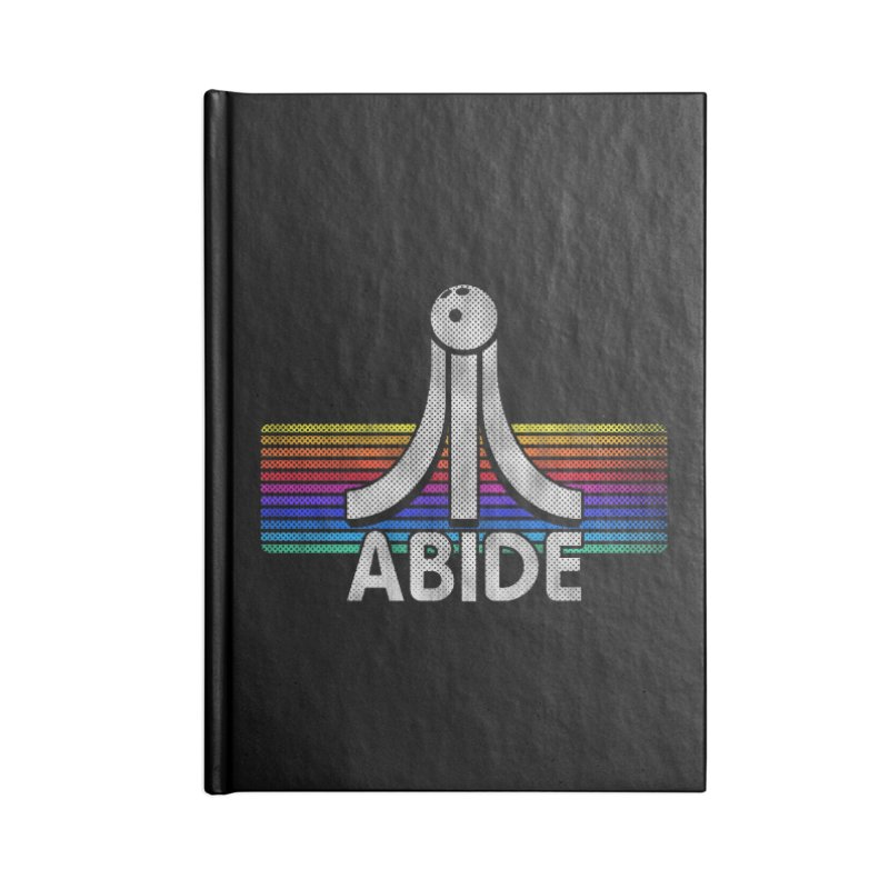 Abide Accessories Blank Journal Notebook by Gamma Bomb - Explosively Mutating Your Look