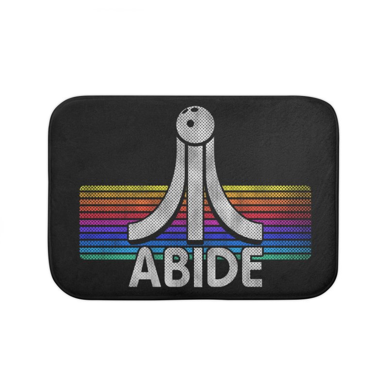 Abide Home Bath Mat by Gamma Bomb - Explosively Mutating Your Look