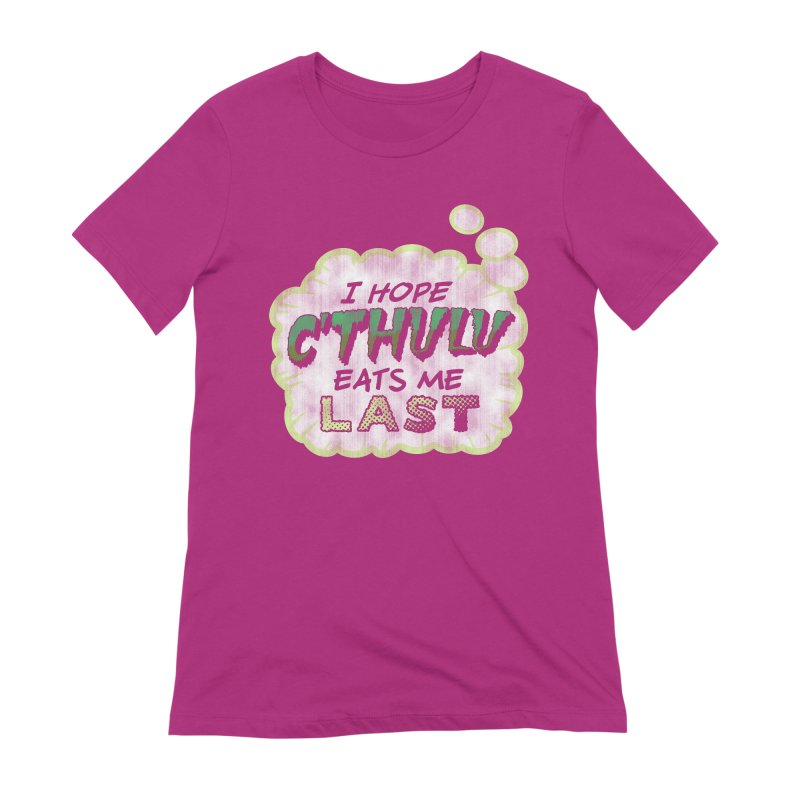 Deep One Thoughts Women's Extra Soft T-Shirt by Gamma Bomb - Explosively Mutating Your Look