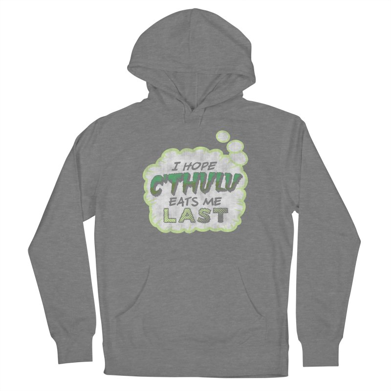 Deep One Thoughts Women's Pullover Hoody by Gamma Bomb - Explosively Mutating Your Look