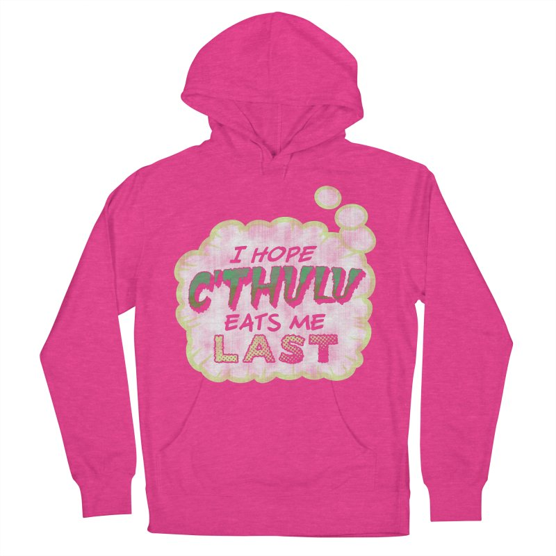 Deep One Thoughts Women's French Terry Pullover Hoody by Gamma Bomb - Explosively Mutating Your Look