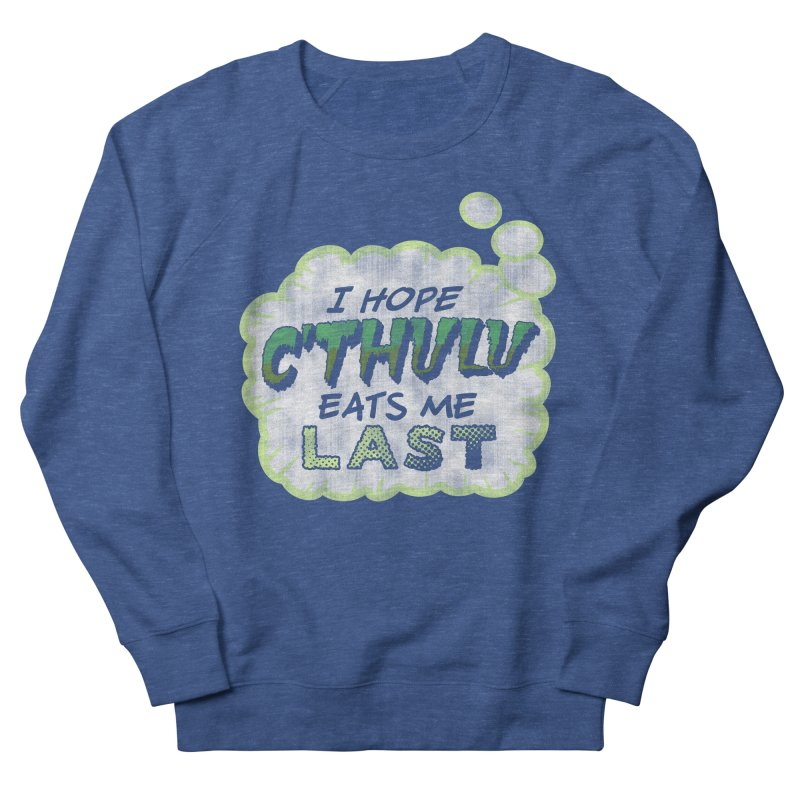 Deep One Thoughts Men's Sweatshirt by Gamma Bomb - Explosively Mutating Your Look