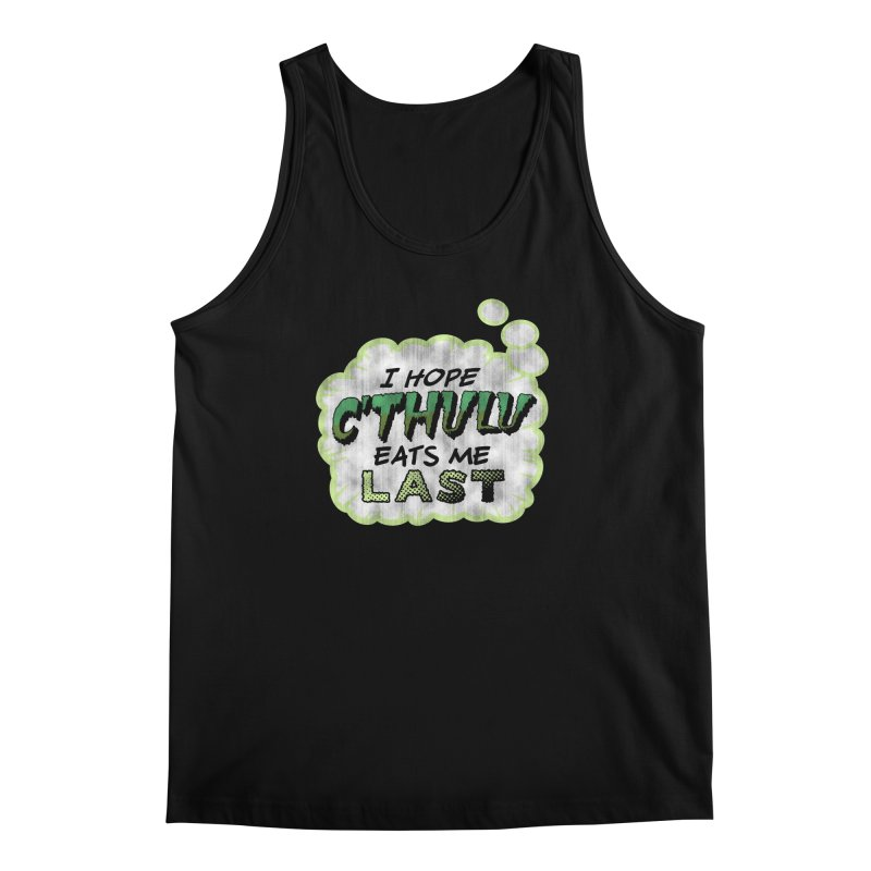 Deep One Thoughts Men's Regular Tank by Gamma Bomb - Explosively Mutating Your Look