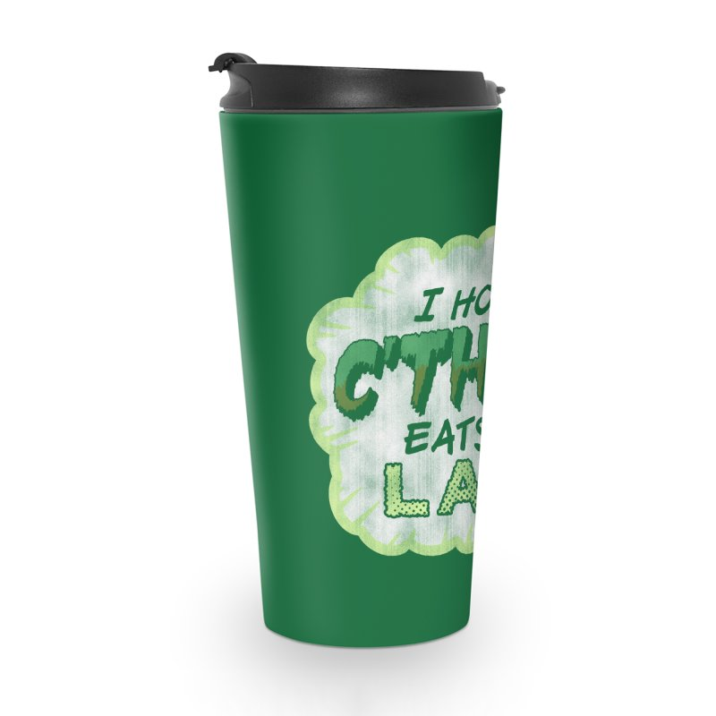 Deep One Thoughts Accessories Travel Mug by Gamma Bomb - Explosively Mutating Your Look