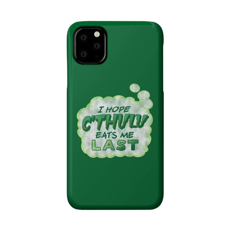 Deep One Thoughts Accessories Phone Case by Gamma Bomb - Explosively Mutating Your Look