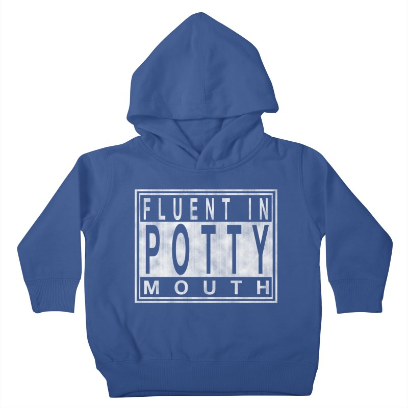 Personal Warning Label Kids Toddler Pullover Hoody by Gamma Bomb - Explosively Mutating Your Look