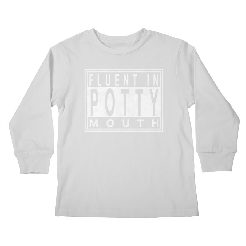 Personal Warning Label Kids Longsleeve T-Shirt by Gamma Bomb - Explosively Mutating Your Look
