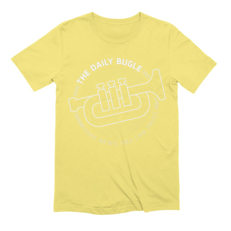 Fake News Men's T-Shirt by Gamma Bomb - Explosively Mutating Your Look