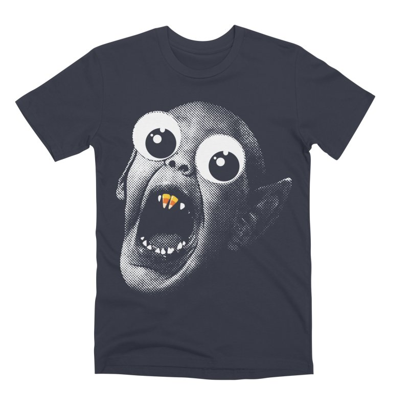OMFG Candy Corn Men's Premium T-Shirt by Gamma Bomb - Explosively Mutating Your Look