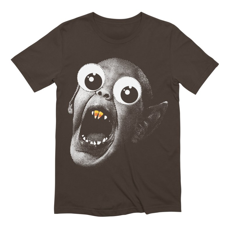OMFG Candy Corn Men's Extra Soft T-Shirt by Gamma Bomb - Explosively Mutating Your Look