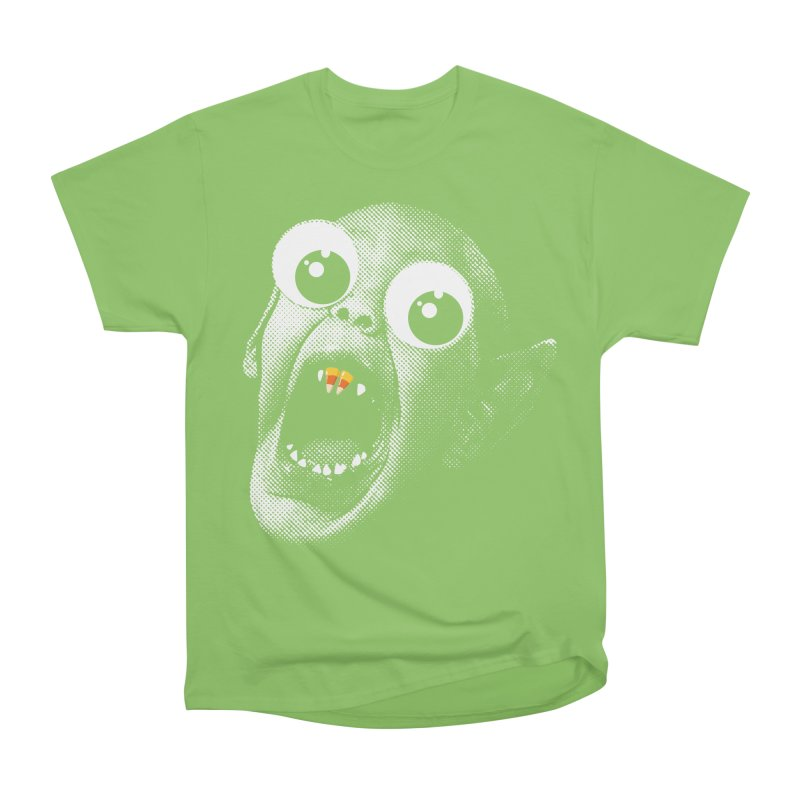 OMFG Candy Corn Women's Heavyweight Unisex T-Shirt by Gamma Bomb - Explosively Mutating Your Look
