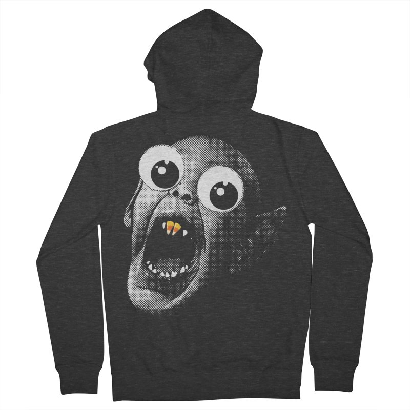 OMFG Candy Corn Women's French Terry Zip-Up Hoody by Gamma Bomb - Explosively Mutating Your Look