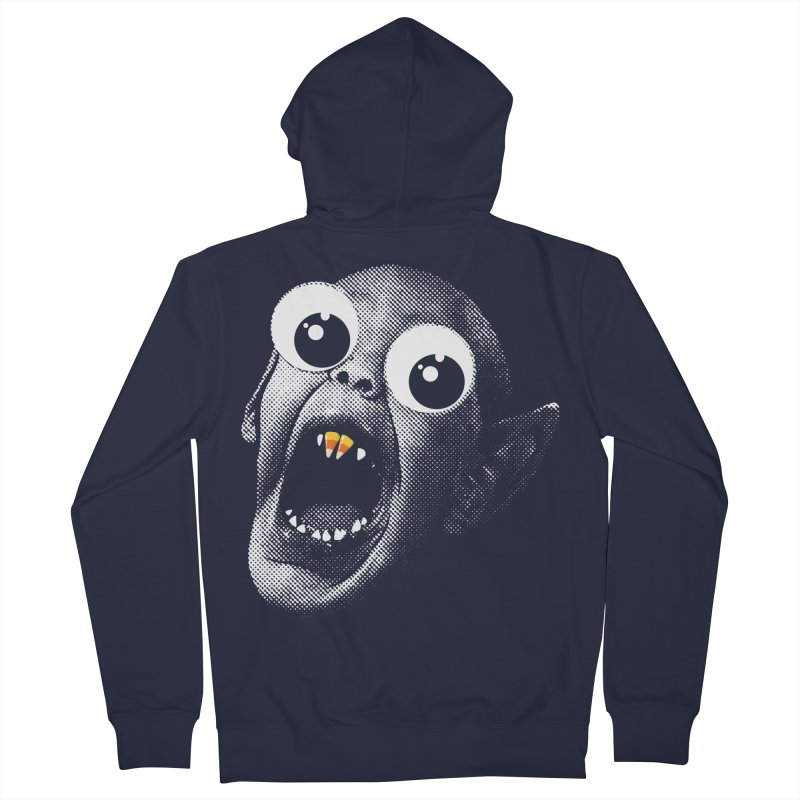 OMFG Candy Corn Men's French Terry Zip-Up Hoody by Gamma Bomb - Explosively Mutating Your Look