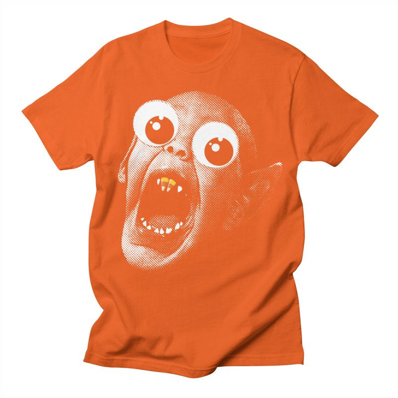 OMFG Candy Corn Men's Regular T-Shirt by Gamma Bomb - Explosively Mutating Your Look