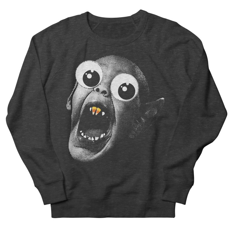 OMFG Candy Corn Women's French Terry Sweatshirt by Gamma Bomb - Explosively Mutating Your Look
