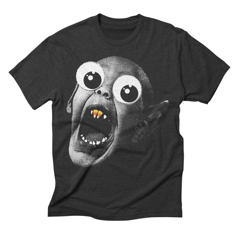 OMFG Candy Corn Men's Triblend T-Shirt by Gamma Bomb - Explosively Mutating Your Look
