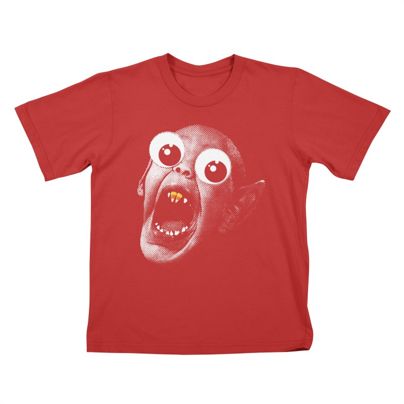 OMFG Candy Corn Kids T-Shirt by Gamma Bomb - Explosively Mutating Your Look