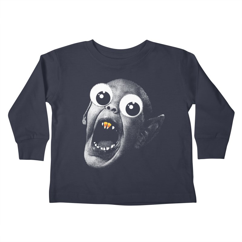 OMFG Candy Corn Kids Toddler Longsleeve T-Shirt by Gamma Bomb - Explosively Mutating Your Look