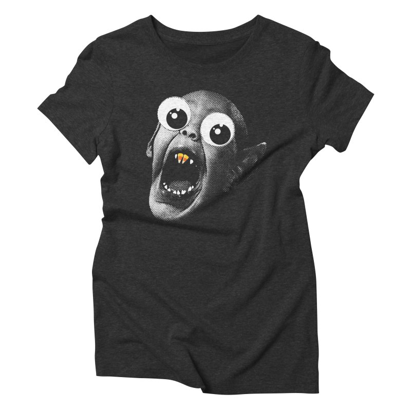 OMFG Candy Corn Women's Triblend T-Shirt by Gamma Bomb - Explosively Mutating Your Look