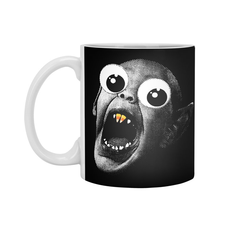 OMFG Candy Corn Accessories Standard Mug by Gamma Bomb - Explosively Mutating Your Look
