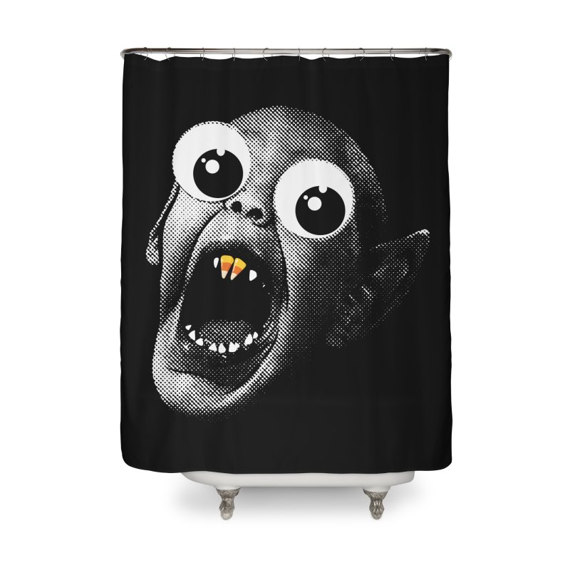 OMFG Candy Corn Home Shower Curtain by Gamma Bomb - Explosively Mutating Your Look