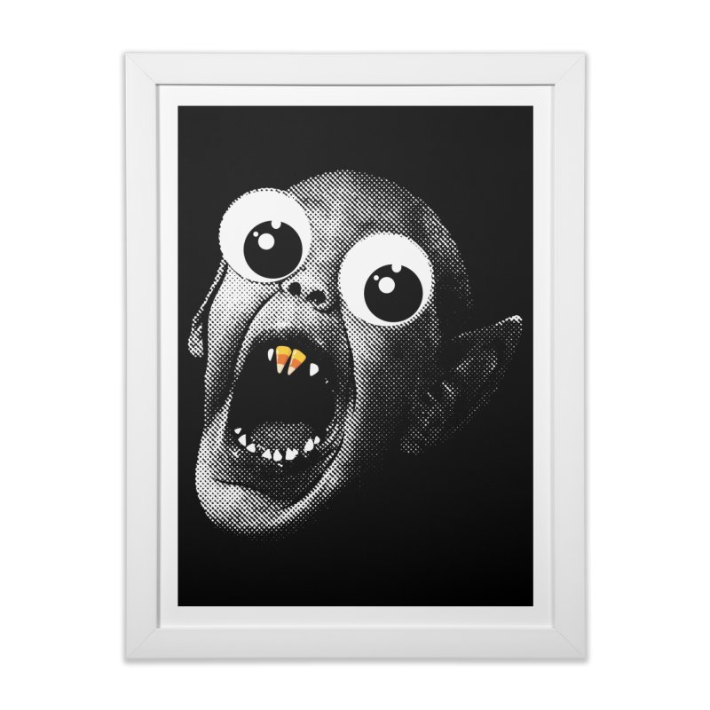 OMFG Candy Corn Home Framed Fine Art Print by Gamma Bomb - Explosively Mutating Your Look