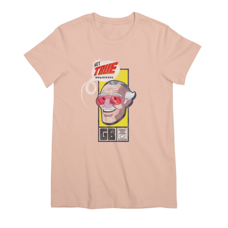 True Believer - Fearless Flavor Women's Premium T-Shirt by Gamma Bomb - Explosively Mutating Your Look