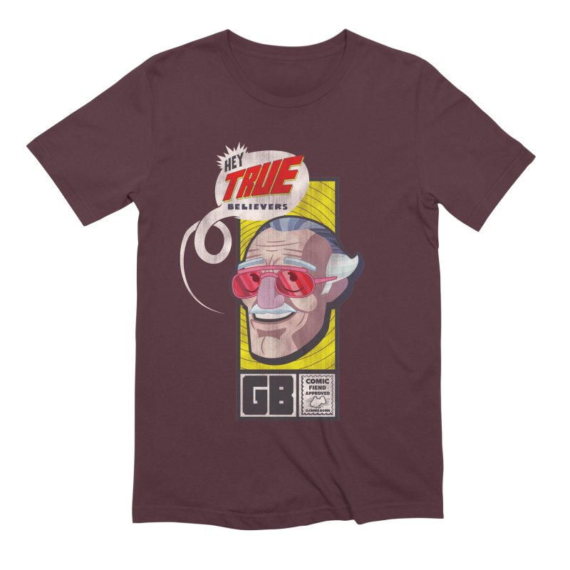 True Believer - Fearless Flavor Men's Extra Soft T-Shirt by Gamma Bomb - Explosively Mutating Your Look