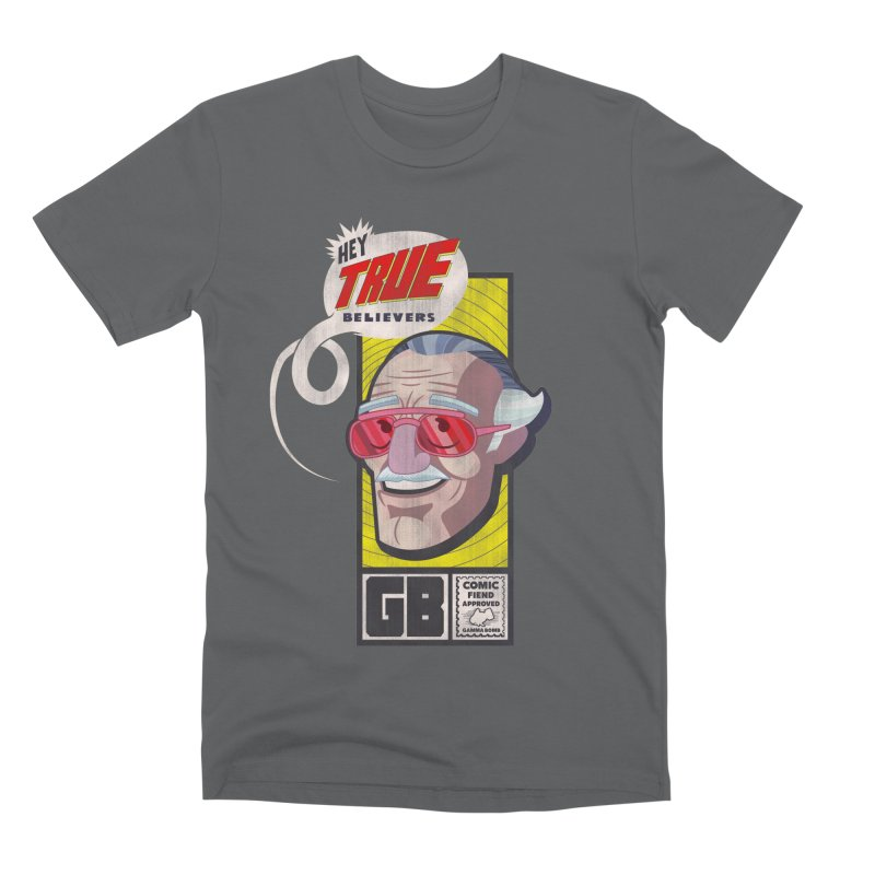 True Believer - Fearless Flavor Men's Premium T-Shirt by Gamma Bomb - Explosively Mutating Your Look