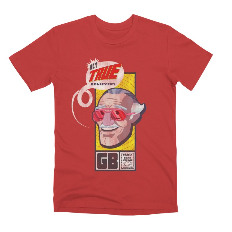 True Believer - Fearless Flavor Men's Premium T-Shirt by Gamma Bomb - Explosively Mutating Your Look