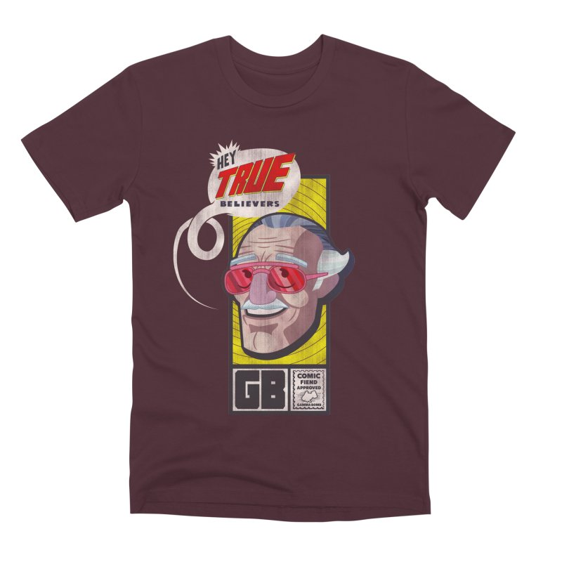 True Believer - Fearless Flavor Men's T-Shirt by Gamma Bomb - Explosively Mutating Your Look