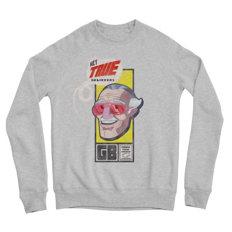True Believer - Fearless Flavor Men's Sponge Fleece Sweatshirt by Gamma Bomb - Explosively Mutating Your Look