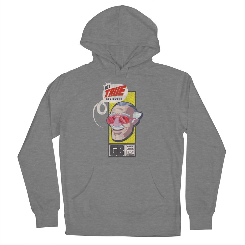 True Believer - Fearless Flavor Women's Pullover Hoody by Gamma Bomb - Explosively Mutating Your Look