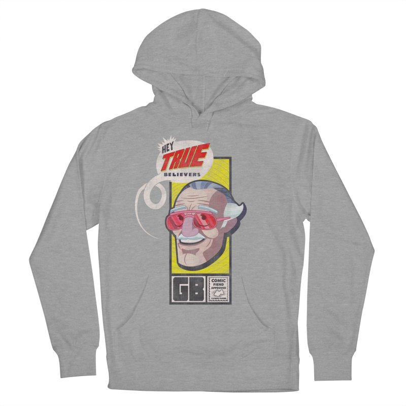 True Believer - Fearless Flavor Women's French Terry Pullover Hoody by Gamma Bomb - Explosively Mutating Your Look