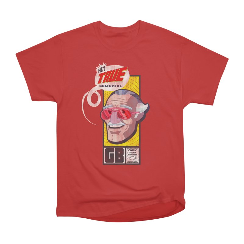 True Believer - Fearless Flavor Men's Heavyweight T-Shirt by Gamma Bomb - Explosively Mutating Your Look
