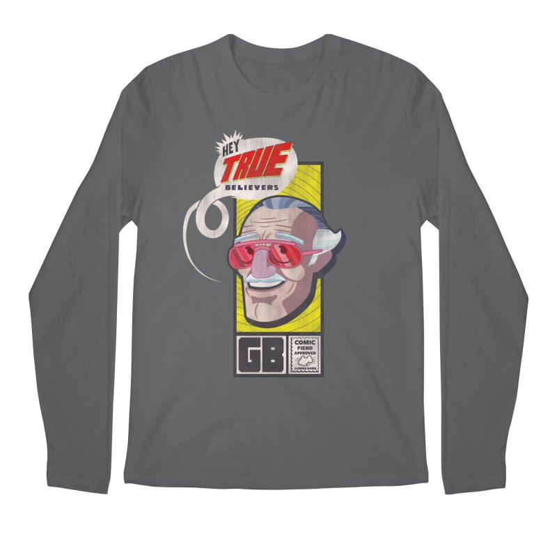 True Believer - Fearless Flavor Men's Longsleeve T-Shirt by Gamma Bomb - Explosively Mutating Your Look