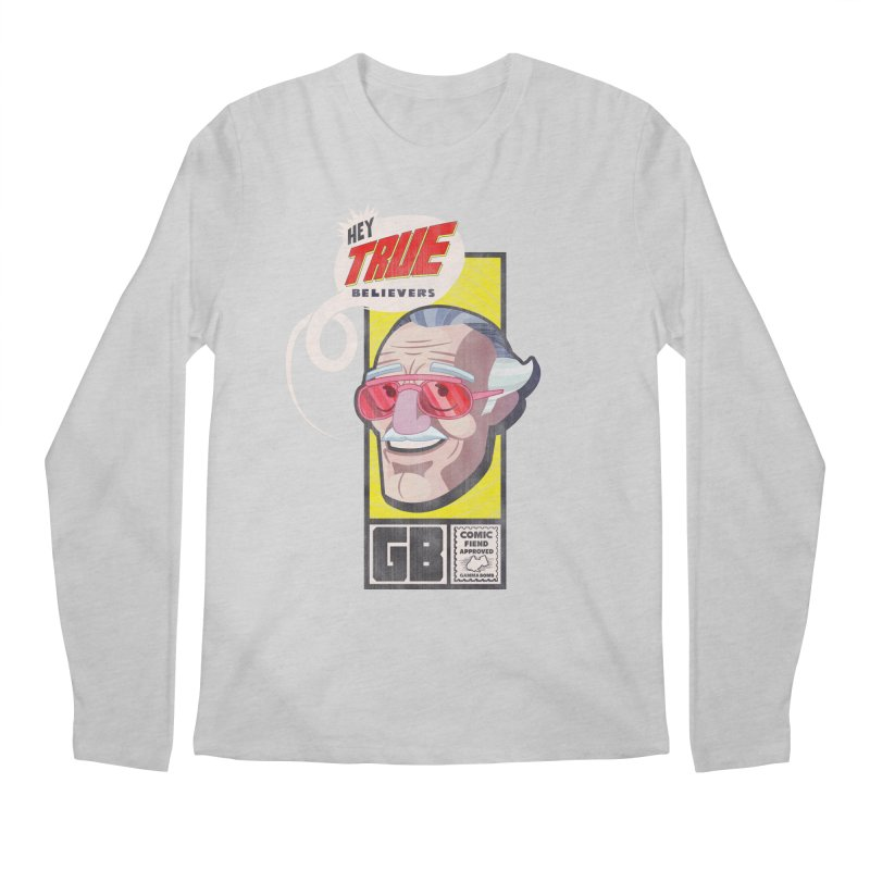 True Believer - Fearless Flavor Men's Regular Longsleeve T-Shirt by Gamma Bomb - Explosively Mutating Your Look