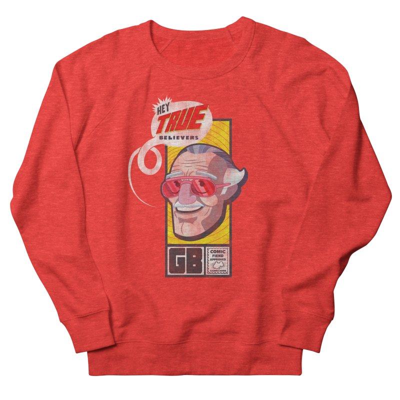True Believer - Fearless Flavor Men's Sweatshirt by Gamma Bomb - Explosively Mutating Your Look