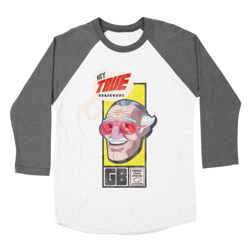 True Believer - Fearless Flavor Women's Baseball Triblend Longsleeve T-Shirt by Gamma Bomb - Explosively Mutating Your Look