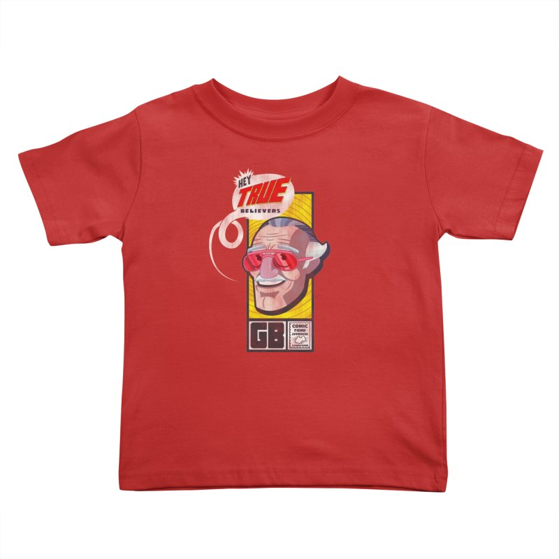 True Believer - Fearless Flavor Kids Toddler T-Shirt by Gamma Bomb - Explosively Mutating Your Look