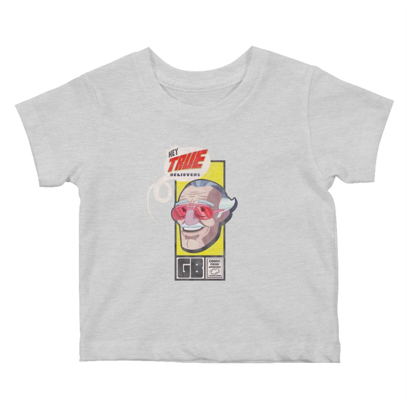 True Believer - Fearless Flavor Kids Baby T-Shirt by Gamma Bomb - Explosively Mutating Your Look