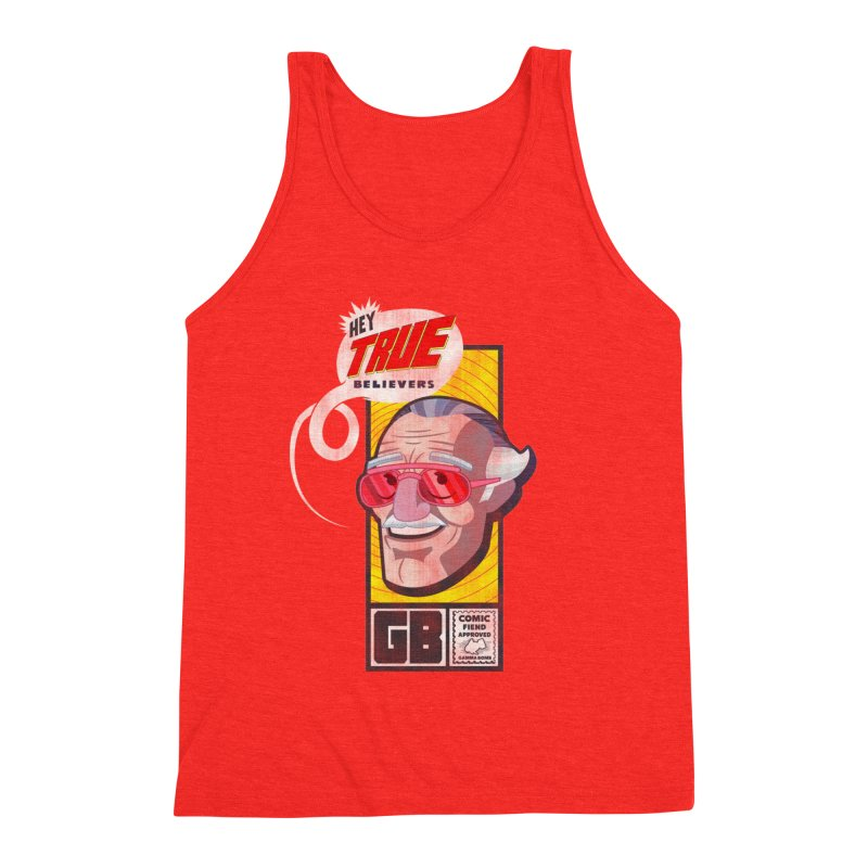 True Believer - Fearless Flavor Men's Tank by Gamma Bomb - Explosively Mutating Your Look