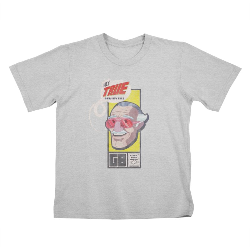 True Believer - Fearless Flavor Kids T-Shirt by Gamma Bomb - Explosively Mutating Your Look
